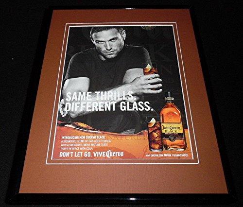 2006 Jose Cuervo Black Medallion Tequila Framed 11x14 ORIGINAL Advertisement ()