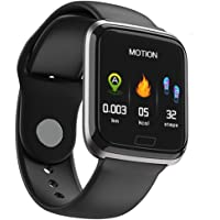 OPTA SB-134 Aletheia Bluetooth Fitness Watch | All-in-One Activity Tracker & Health Monitor for Unisex (Black)