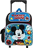 Disney Mickey Mouse 12'' Toddler Rolling Backpack