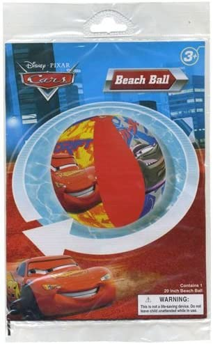 Amazon.com: Cars pelota hinchable de 20 playa: Toys & Games