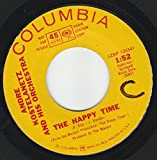 45vinylrecord The Happy Time/Two For The Road (7
