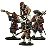 Blood & Plunder - Unaligned 28mm European Cannon Crew Unit