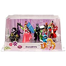 Disney Sleeping Beauty Exclusive 9-Piece PVC Figure Play Set [Aurora, Briar Rose, Phillip, Maleficent, Flora, Fauna, Merryweather, Maleficent as Dragon, The Mock Prince, Samson & Goons] by Unknown