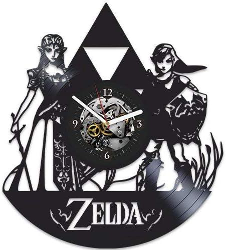 The Legend of Zelda, Zelda Xmas Gift, Wall Clock Large, Zelda Birthday Gift, Zelda Gift For Boy, Wall Clock Modern, Nintendo, Zelda Gift For Fans, Zelda Gift For Kids, Zelda New Year Gift