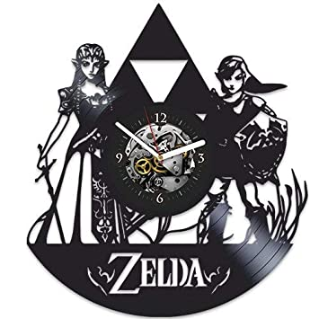 The Legend of Zelda, Zelda regalo de Navidad, reloj de pared ...