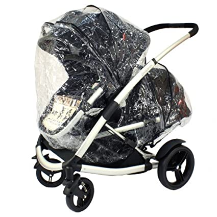 Phil /& Teds Storm Rain Cover for Promenade Baby Pushchair Carrycot Tandem inline Stroller