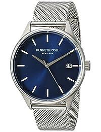 Kenneth Cole New York Men's 10030837 Classic Analog Display Japanese Quartz Silver Watch