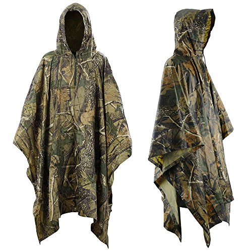 Infreecs Waterproof Rain Cape Raincoat, Rain Poncho for outdoor Camping...