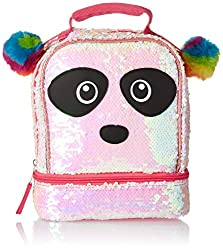 Panda Critter Rainbow Lunch Box