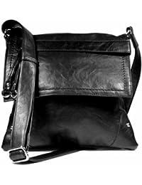 Stitched Flap Cross Body Handbag
