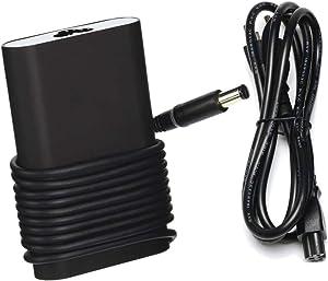 65W AC Charger Fit for Inspiron 17R 5737 3458 3737 N7110 Latitude 12 Rugged Extreme (7204) 13 3380 3330 3340 3350 3440 3540 E5440 E5450 E5540 E6440 E7240 E7440 Laptop Power Supply Adapter Cord