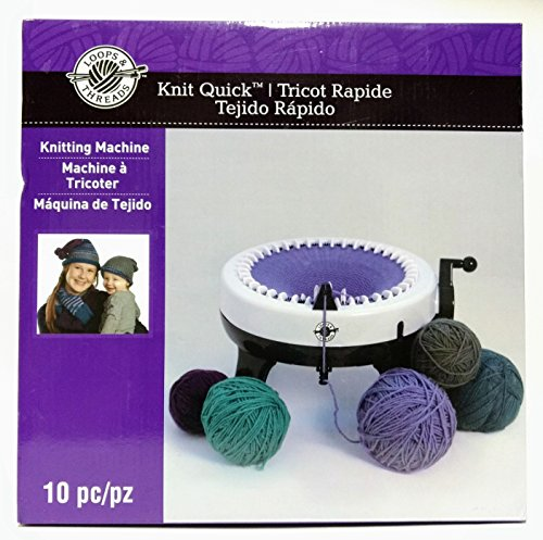 Knit Quick 10 Piece Knitting Machine by Loops & Threads