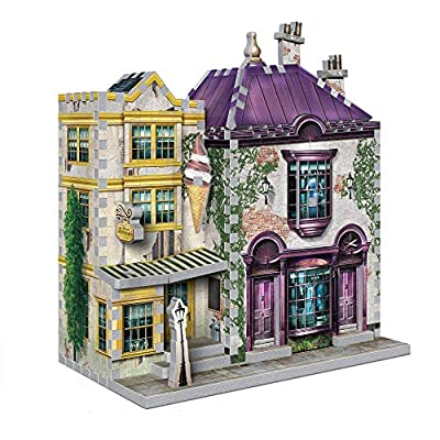 Wrebbit 3d Puzzle Harry Potter Madam Malkins Florean Fortecsues Ice Cream 290