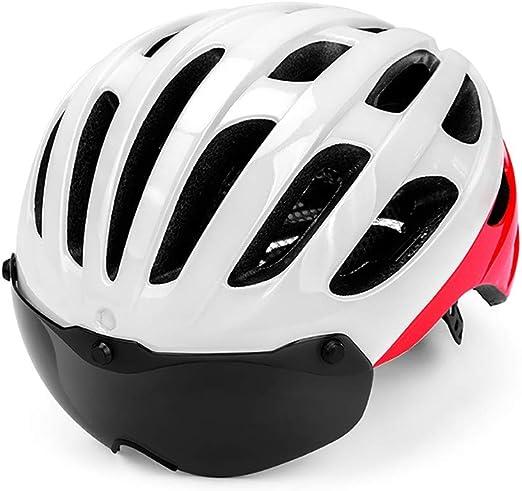 FHGH Casco Bicicleta EPS Helmet PC Case PC Lens Mountain Bike ...