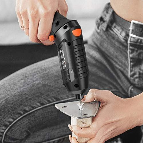 Bon Marché ZCFXGHH Perceuse électrique Tournevis à la Main Mini Petite Batterie au Lithium USB ménages de Charge Tournevis électrique Tournevis Outil,M  fxqlR