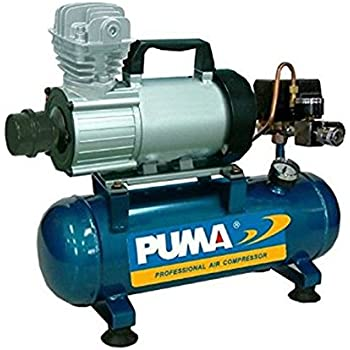 PD1006, Puma 12 Volt Air Compressor, 3.5 CFM, 1 HP, 150 PSI, 1.5 Gallon Tank