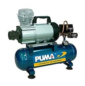 PD1006, Puma 12 Volt Air Compressor, 3.5 CFM, 1 HP, 150 PSI, 1.5 Gallon Tank