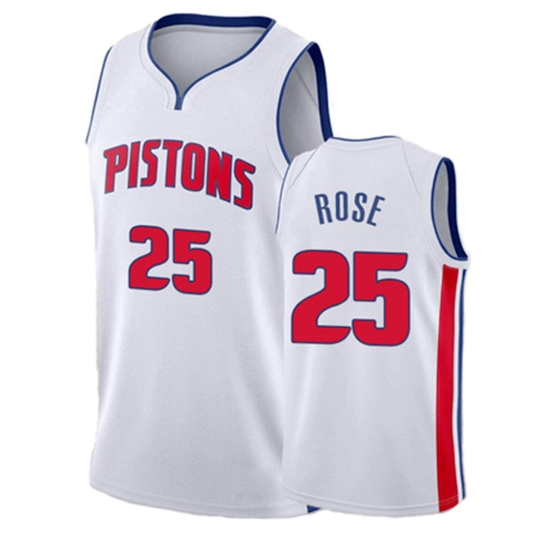 Jersey de Derrick Rose # 25 de los Hombres de Baloncesto, Detroit ...