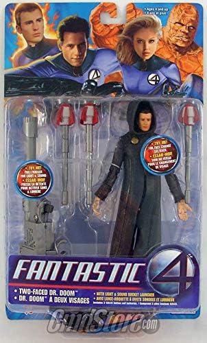 Amazon Com Marvel Toy Biz Fantastic 4 Two Faced Dr Doom 7