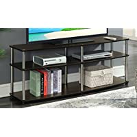 Convenience Concepts 131060ES Designs2Go 3-Tier TV Stand, 60, Espresso