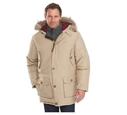 ab325ec2ebeb Woolrich Men's Arctic Down Parka 550 Fill Khaki at Amazon Men's ...