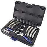 Astro Pneumatic Tool 7580SAE Automotive taladro y juego de machos