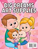 Big Sister Activity Coloring Book For Kids Ages