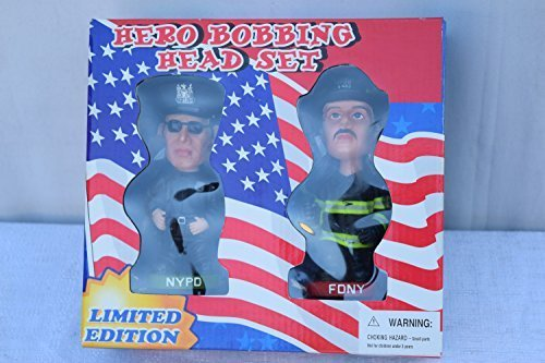 Hero Bobbing Head Set, Limited Edition Bobble Headset
