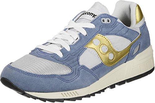Saucony Ombre Herren 5000 Cross-trainer Vintage, Blau Blau Grau Or