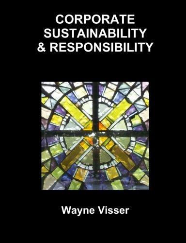 Corporate Sustainability & Responsibility