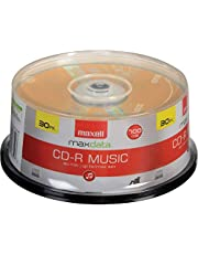 Maxell 30-Pack Music 80x / 700MB CDR Media for Audio 625335