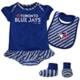 MLB  Toronto Blue Jays Newborn Girls Bib & Booty-3/6 Months
