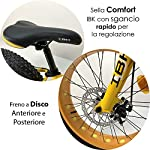 IBK-Bici-Bicicletta-20-Fat-Bike-6-Velocita-Bimbo-Bambino-MTB-Acciaio-Cambio-Shimano