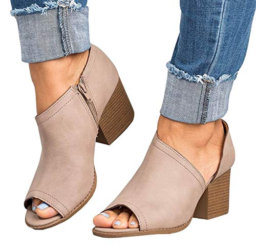 Pantoufles Mules Minetom Été Chaussures Kaki Chausson Poisson Épais Sandales Compensées Loisirs Femmes Tongs Fond Bouche Pantoufles Mode Chaussures 84qAr8wv