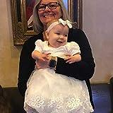 Glamulice Baby Girls Newborn Satin Christening