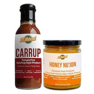 KC Natural - Carrup And Honey Nu'jon Combo - Paleo And AIP Friendly - Nightshade Free