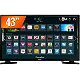 "Smart TV LED 43"", Samsung, UN43J5200AGXZD, Preto"
