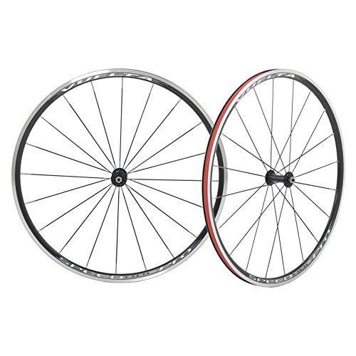 Pro Wheel Rear Clincher - Vuelta Speed One Pro 700c Alloy Hand Built Clincher 11sp Road Wheelset