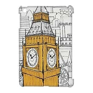 Personalized Creative London big ben clock Ipad Mini Case, Best Durable Big Ben Clock Ipad Mini Case Cover