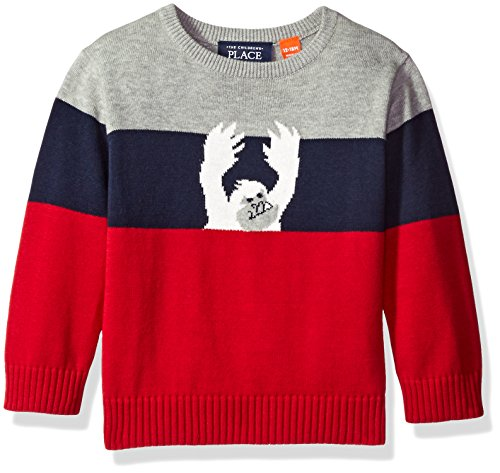 Childrens Place Striped Pullover Sweater product image