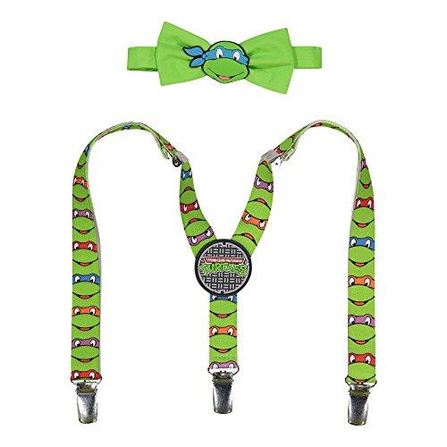 Teenage Mutant Ninja Turtles TMNT Suspenders and Bow