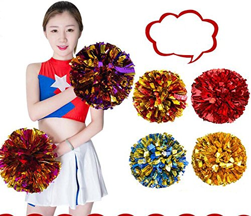 Pom Or Sport Poms Beaux Accessoires Cheerleading Ensemble Cheerleaders de 2 zqIBB6