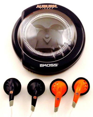 Koss Sportbuds 2-Pack Stereo Earphones with Team Logo Case (Auburn University)