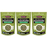Seapoint Farms Dry Roasted Edamame, Wasabi, 3.5-Ounce Pouches (Pack of 3)