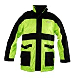 Vega Rain Jacket (Hi-Visibility Yellow, X-Large)