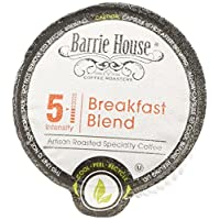 Barrie House Breakfast Blend Single Cup Capsules, 96 Count