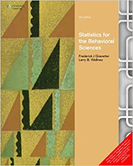 Statistics for the behavioral sciences gravetter 9788131521045 statistics for the behavioral sciences gravetter 9788131521045 amazon books fandeluxe Image collections