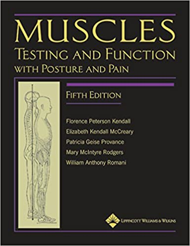 Muscles testing and function with posture and pain kendall edition by florence p kendall elizabeth kendall mccreary patricia g provance mary rodgers william romani professional technical kindle ebooks fandeluxe Images