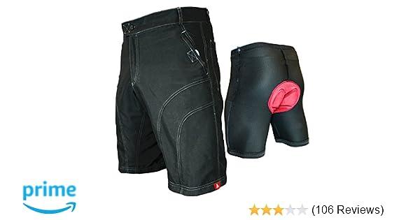 b9873351a Amazon.com  The Pub Crawler - Men s Loose-Fit Commuter Cycling Mountain Biking  Bike Shorts  Clothing
