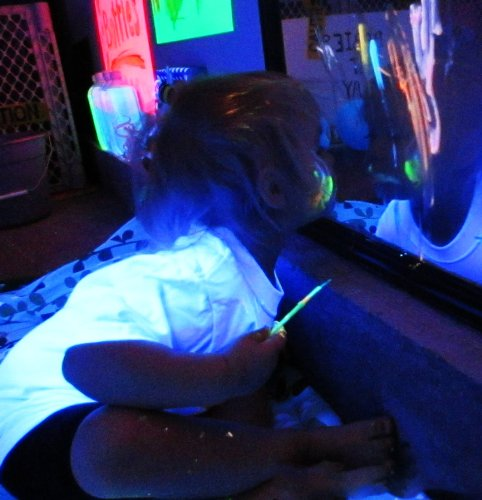 Glow In The Dark Body Paint Toys R Us